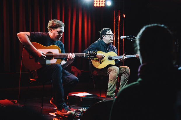 Damien Jurado and Josh Gordon