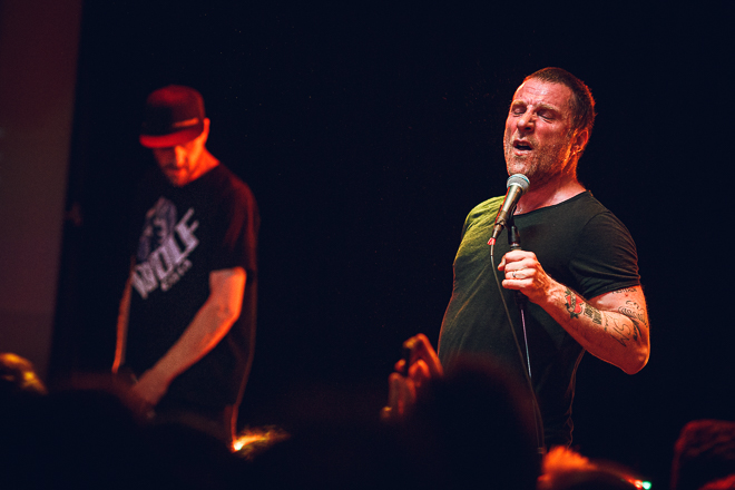 Jason Williamson och Andrew Fearn i Sleaford Mods