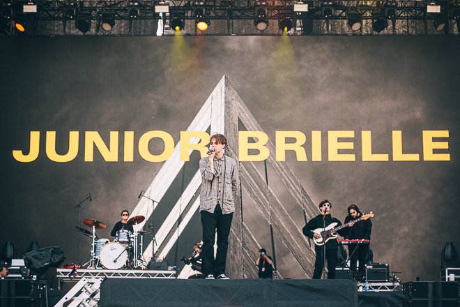 Junior Brielle på Lollapalooza Stockholm